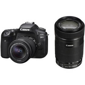 Canon EOS 90D DSLR Camera with 18-55mm and 55-250m