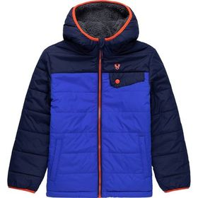 Stoic Sherpa Lined Puffer Jacket - Boys'