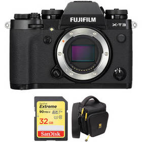 FUJIFILM X-T3 Mirrorless Digital Camera Body with