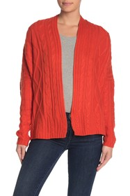 7 Seasons Chunky Cable Knit Cardigan