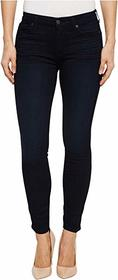 7 For All Mankind High-Waist Ankle Skinny in Blue