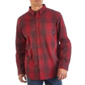 Mens Plaid Long Sleeve Button Down