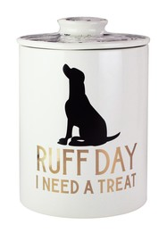Jay Import Everyday Treat Pet Canister - Marble/Go