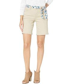 Jag Jeans Carter Belted Girlfriend Shorts