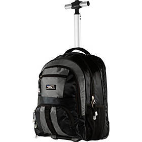 American Green Travel Cruiser Rolling Carry-On Bac