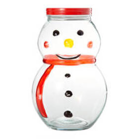 Home Essentials Snowman Canister