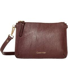 Calvin Klein Unlined Pebble PVC Crossbody