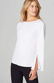 Christian Siriano For J.Jill Flared-Sleeve Top