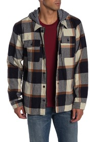 Levi's Faux Fur Lined Checkered Fleece Jacket