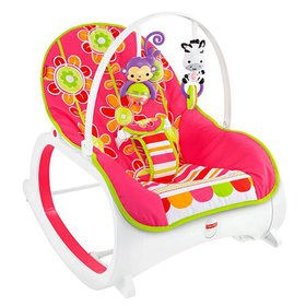 Fisher-Price Infant-To-Toddler Rocker, Floral Conf