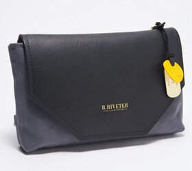 """""""As Is"""" R.Riveter Small Canvas Crossbody - Patton"""