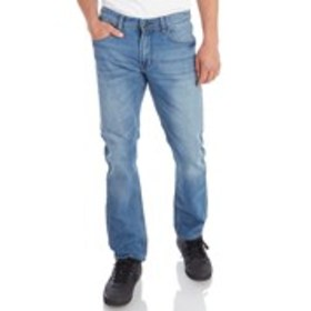 MBX Mens Washed-Out Stretch Slim Fit Jeans
