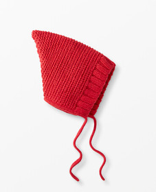 Hanna Andersson Soft Bonnet In Alpaca in Hanna Red