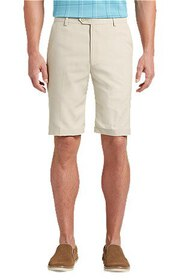 Jos Bank David Leadbetter Tailored Fit Flat Front