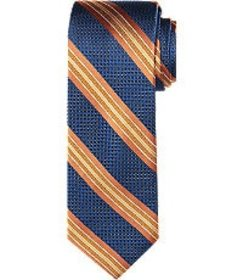 Jos Bank Traveler Collection Dotted Stripe Tie CLE
