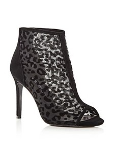 Charles David - Women's Cathie Leopard Mesh High-H