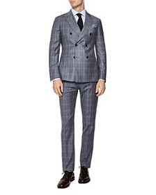 REISS - Glover Flannel Slim Fit Suit