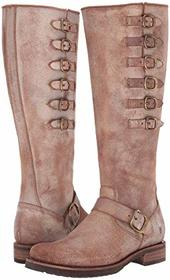 Frye Frye - Veronica Belted Tall. Color Chocolate