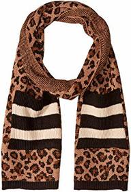 Steve Madden Knit Scarf with Stripes and Pocket
