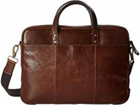 Fossil Fossil - Haskell Workbag. Color Cognac. On