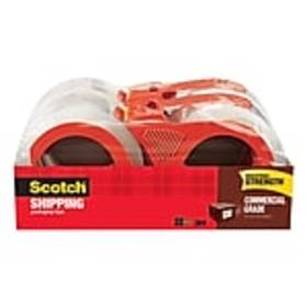 Scotch® Commercial Grade Shipping Packaging Tape,