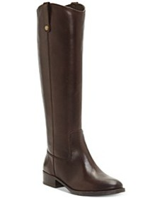 INC Fawne Riding Leather Boots , Created for Macy'