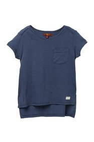 7 For All Mankind High/Low T-Shirt (Little Girls)