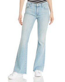 MOTHER - The Weekender Flared-Leg Jeans in Swimmin