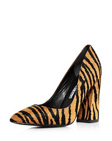 Charles David - Women's Medal Tiger Print Pumps