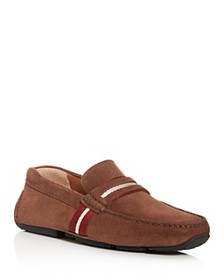 Bally - Men's Pietro Suede Square Moc-Toe Drivers