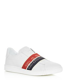 Bally - Men's Wictor Leather Slip-On Sneakers