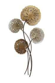 Stratton Home Water Lilies Wall Decor