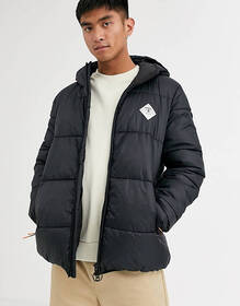 Barbour Beacon Ross diamond logo puffer jacket in