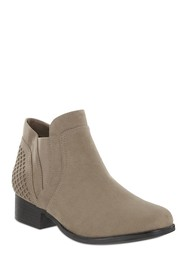 MIA AMORE Londra Perforated Chelsea Bootie - Wide