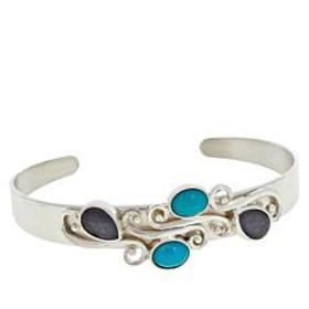 Jay King Sterling Silver Campitos Turquoise and Ta