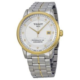 TissotLuxury Automatic Silver Dial Men's Watch