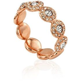 SwarovskiRose Gold Plated Angelic Band Ring Size-