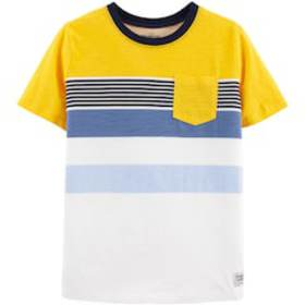 Boys 4-14 OshKosh B'gosh® Striped Pocket Tee