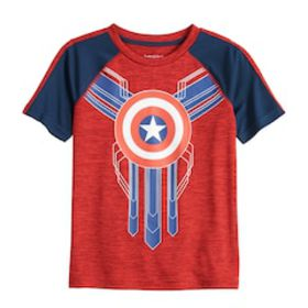 Boys 4-12 Jumping Beans® Captain America Graphic T