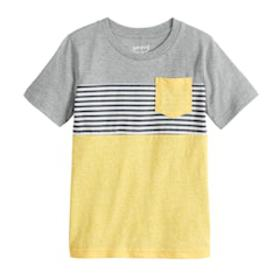 Boys 4-12 Jumping Beans® Colorblock Striped Pocket