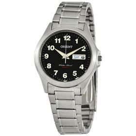 OrientContemporary Quartz Black Dial Unisex Watch