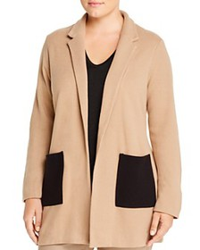 NIC and ZOE Plus - Patch-Pocket Open Jacket
