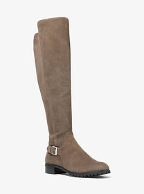 Michael Kors Branson Stretch Suede Boot