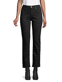 Levi's High-Rise Ankle-Length Jeans BLACK