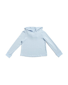 Big Girls French Terry Cropped Hoodie