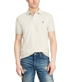 Polo Ralph Lauren Classic-Fit Solid Mesh Polo Shir