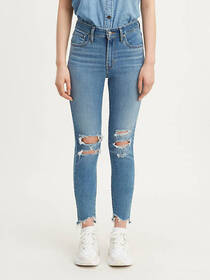 Levi's 721 High Rise Skinny Ripped Women's Jeans