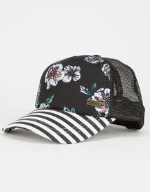 ROXY Water Come Down Anthracite Womens Trucker Hat