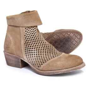 ROAN Houlton Booties - Suede (For Women) in Sand S