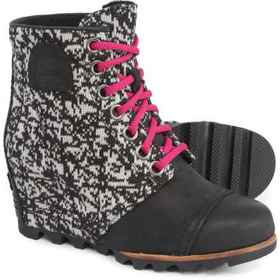 Sorel PDX Wedge Graphic Knit Boots - Waterproof (F